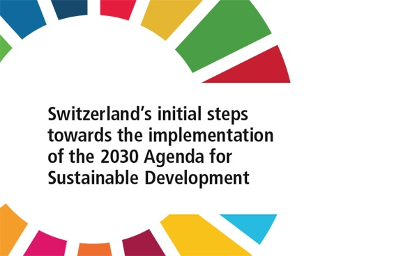 Switzerland's initial steps towards the implementation of the 2030 Agenda for Sustainable Development