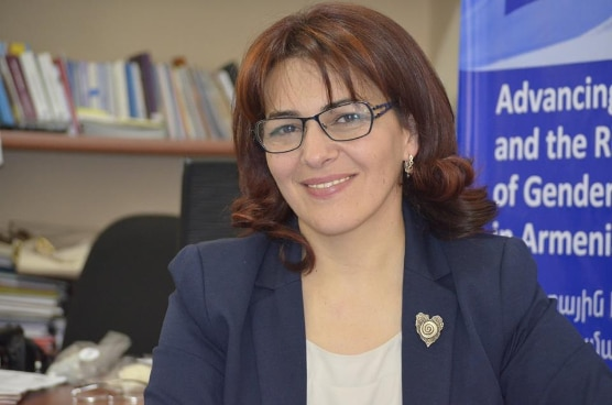 "Ruzanna Torozyan, Head of Goris Women's Development ""Resource Center"" Foundation"