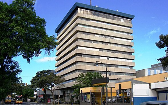 The embassy premises in San José