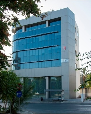 Image of new buidling housing Embassy of Switzerland In Nicosia