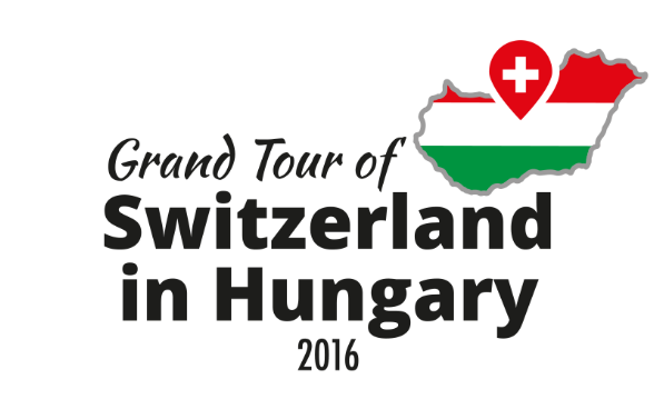 Logo of the Grand Tour of Switzerland in Hungary © by the Embassy of Switzerland
