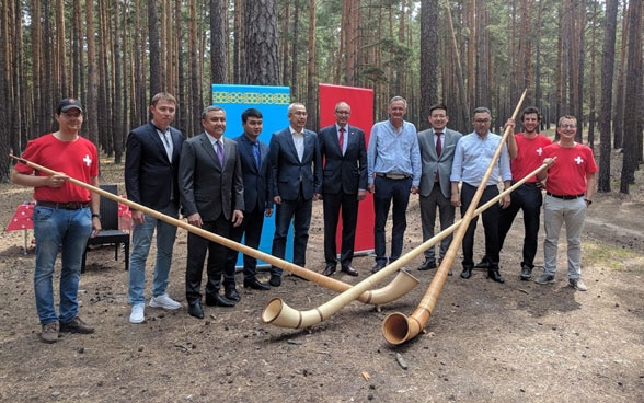 Launching of Kazakh-Swiss Cooperation on Tourism