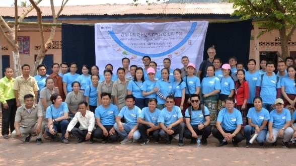 Field Nutrition Day in Napa of Beng District, Oudomxay Province