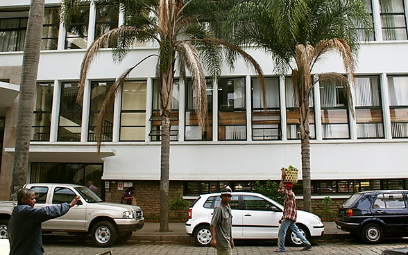 The embassy premises in Antananarivo