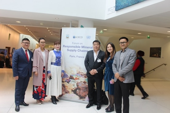 Representatives from Mongolia