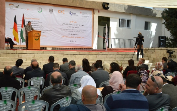 "Palestine technical college – Kadouri Center of Competence for fashion design and the manufacturing of wearing apparel"", official opening"
