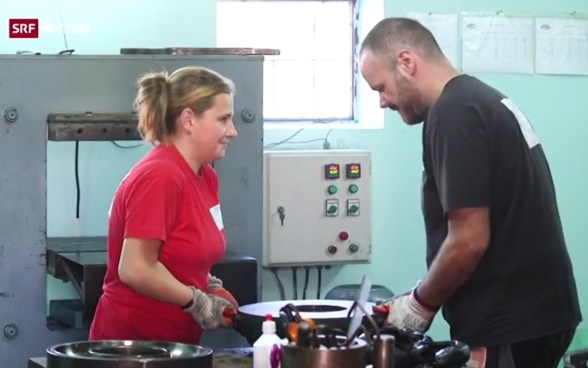 Employees at Silikon Komerc, company from Krusevac supported through project Education to Employment