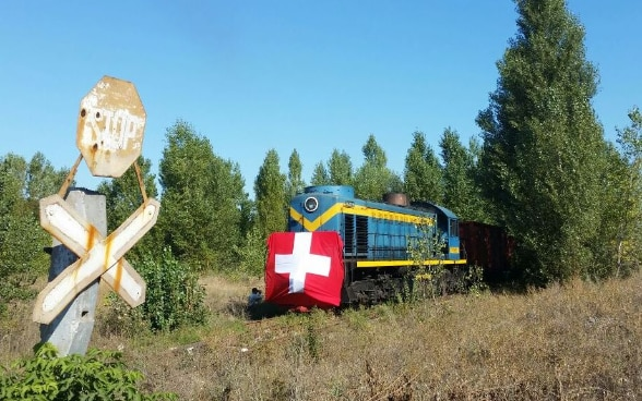 Swiss Humanitarian Transport to Eastern Ukraine in September 2016