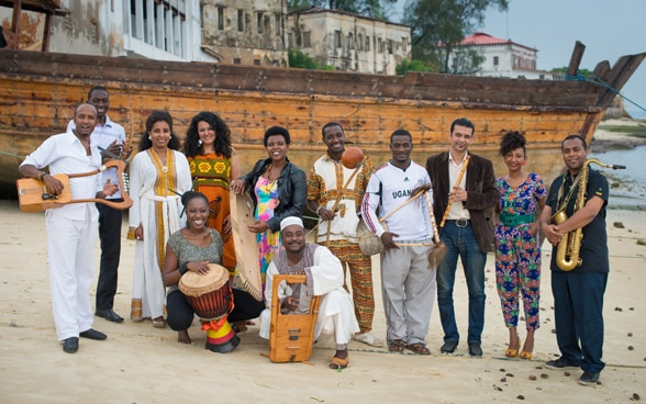 Groupe de musiciens du Nile Project