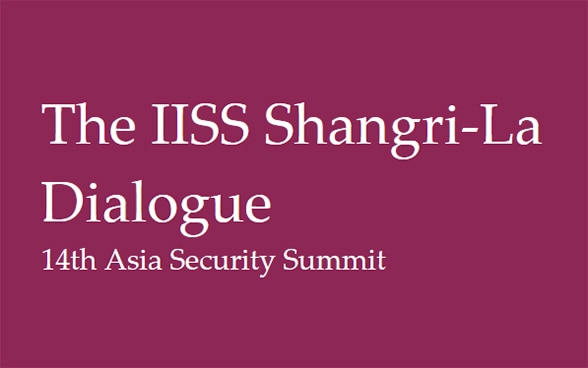 The IISS Shangri-La Dialogue, Singapore 29-31 May 2015 - 14th Asia Security Summit. © IISS