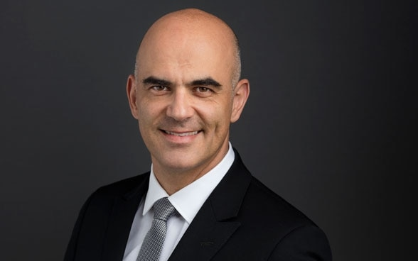 President of the Swiss Confederation Alain Berset