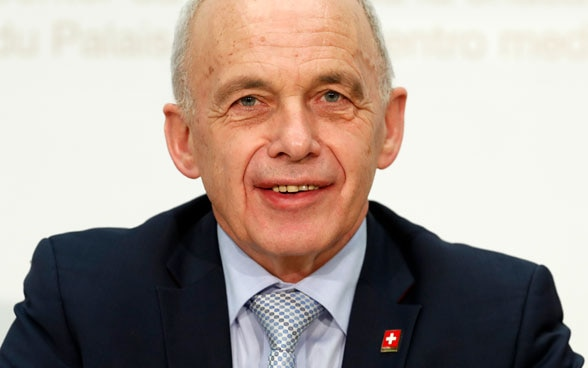 President of the Swiss Confederation Ueli Maurer