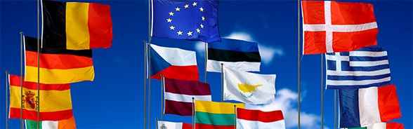 Flags of the European Union member states, 2013