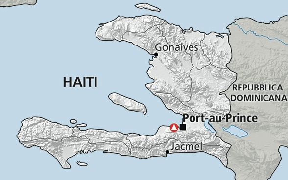 Cartina di Haiti