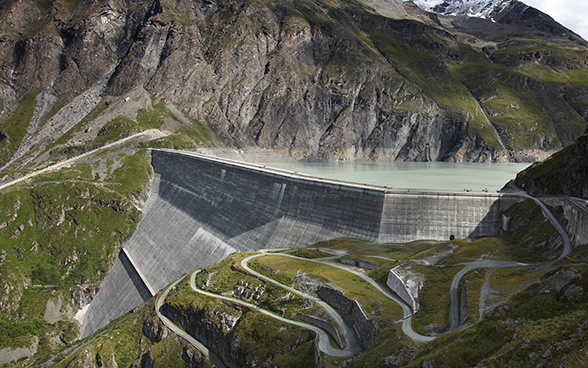 Dam in the Alps