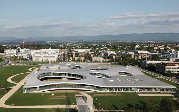 Rolex Learning Center à l'EPF de Lausanne