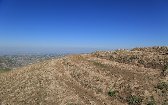 Terracing in Saqaba village