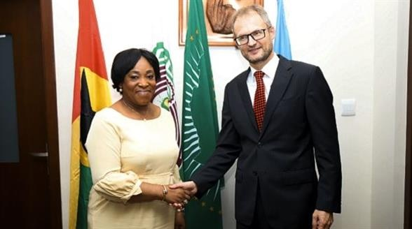 Swiss Ambassador-designate with Ghana's Foreign