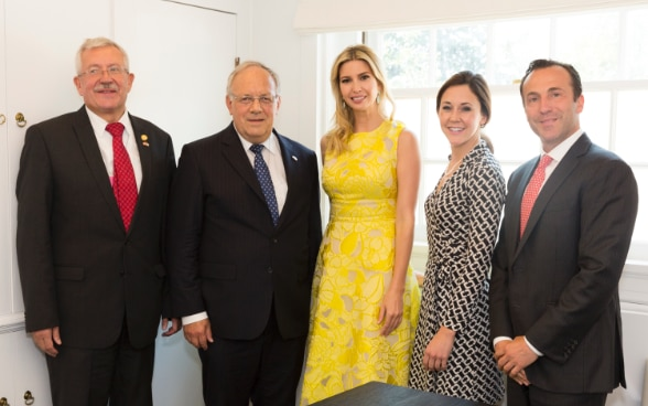 Federal Councillor Schneider-Ammann's meeting with presidential advisor, Ivanka Trump