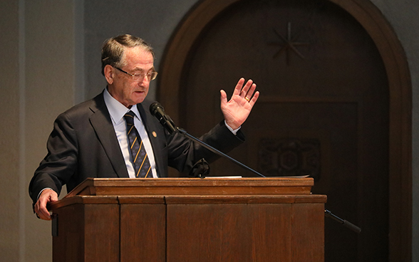 Speech by Professor Ivan Lefkovits, Holocaust survivor, on International Holocaust Remembrance Day.